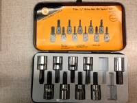 3/8 inch drive Hex Bit Socket Set