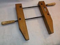 wood hand screw clamp