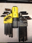 Hex Wrench Set - Workshop Use Only