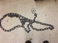 Tow Chain with hook on one end