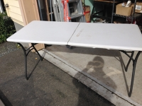 Folding Table 5ft x 2.25ft