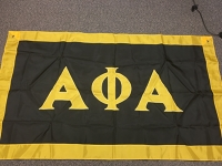 Greek Letter Flag: Alpha Phi Alpha Fraternity, Inc.