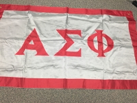 Greek Letter Flag: Alpha Sigma Phi