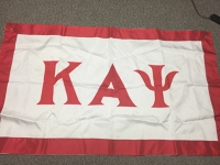 Greek Letter Flag: Kappa Alpha Psi Fraternity, Inc.