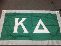 Greek Letter Flag: Kappa Delta Sorority