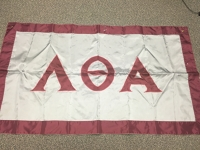 Greek Letter Flag: Lambda Theta Alpha Latin Sorority, Inc.