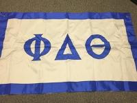 Greek Letter Flag: Phi Delta Theta