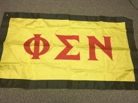 Greek Letter Flag: Phi Sigma NU Fraternity. Inc.