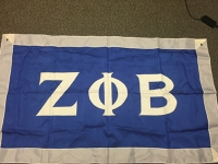 Greek Letter Flag: Zeta Phi Beta Sorority, Inc.