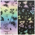 Wrapahula Rainbow Butterflies Ring Sling