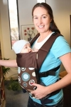 Action Baby Carrier Blue Spot