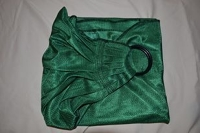 Babyette Green Water Ring Sling ( Pleated Shoulder)