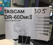 Tascam DR-60D MKII Manual