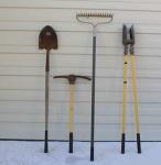 Large Hand Garden Tools
