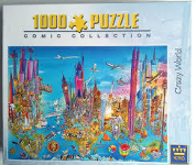 Crazy World Jigsaw Puzzle