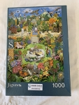 Jigsaw puzzle; 1000 pieces, My Garden by Gale Pitt