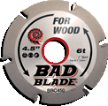 Wood carving blade, 4-1/2""