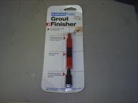 Grout Finishing tool with 16 finishing edges