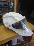 protective dust ventilator hood, use with shop vac