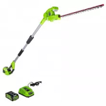hedge trimmer, cordless, extension pole