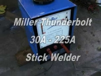 Arc Welder, Miller HF6B, 30-225 Amp, 220 volt