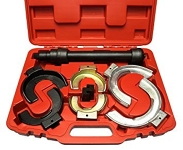 Automotive spring compressor tool