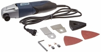 Chicago Electric Variable Speed Oscillating multi-tool with case and accessories