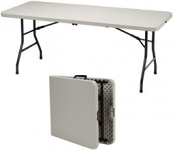 "Table, Folding, Indoor/Outdoor - 72"" x 30"""