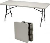 "Table, Folding, Indoor/Outdoor - 72"" x 30"""