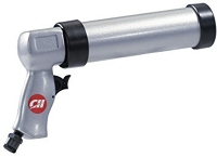 Caulk gun, pneumatic