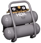 Air Compressor, twin tank, 2 gallon - 100 psi