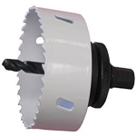 """Hole Saw with mandrel 2 1/2"""""""