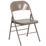 Chairs, Folding, Indoor/Outdoor, metal, set of 3