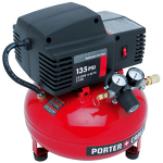 Air Compressor - 135 psi, 6 gal