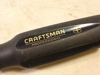 Screwdriver, flathead, Craftsman