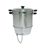 Multi Purpose Old Country Steamer Juicer; juice extractor, Cooker, Blancher, Steamer