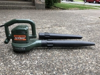 Leaf vacuum and blower, Cordless, 40v