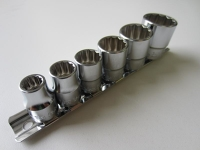 "Socket set, SAE, 6 pc - 1/2"" drive"