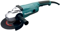Angle Grinder w diamond cup grinding wheel