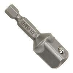 "Socket adapter, 3/8""' hex drive to 3/8"""