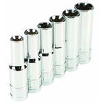 "Socket set, 6 pc - 3/8"" drive"