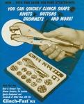 Snap fastener kit