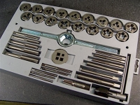 Tap and Die Tools, set
