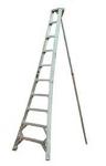 Ladder, orchard, aluminum - 8'