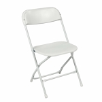 Samsonite Indoor/Outdoor Folding Chairs, plastic,set of five