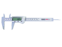 Caliper w/ digital display, steel - 6""