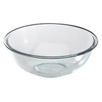 Pyrex 4 quart mixing bowl, oven and microwave safe