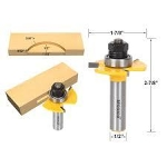 "router bit , groove, 1/4"" shank"
