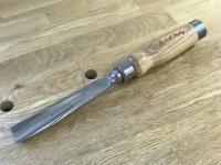 "wood gouge, curved - 1 1/2 x 13"""