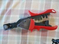 Crimping tool, modular plug